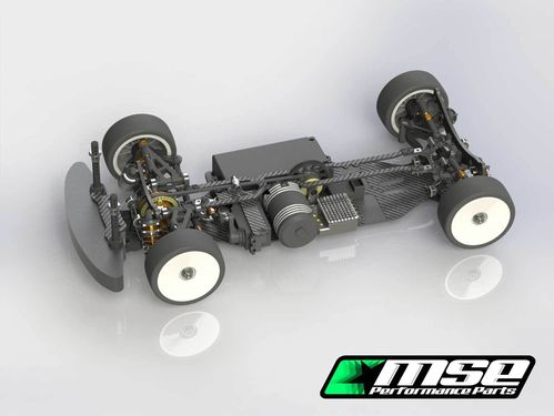 Mugen MA2001 - MTC-1 FWD - 1:10 EP Touring Car Kit - 190mm