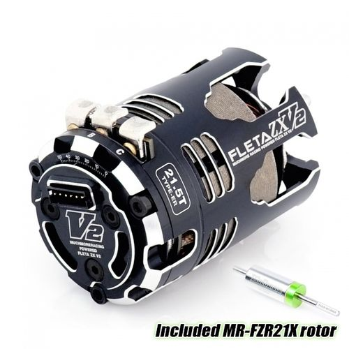 MuchMore MR-V2ZX215ERX - FLETA ZX V2  ER Brushless Motor 21.5T - with Titanium Rotor