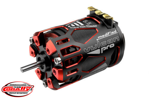 Corally 61072 - VULCAN PRO MODIFIED - 1/10 Sensor Brushless Motor - 5.5T - 6450 KV
