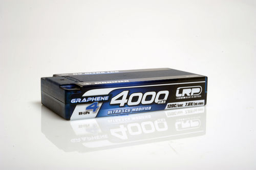 LRP 431273 - HV Ultra LCG Modified Shorty Graphene 4 - 4000mAh - 7.6V LiPo - 120C/60C - 158g