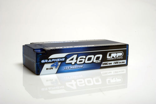 LRP 431286 - HV LCG Modified Shorty Graphene 4 - 4600mAh - 7.6V LiPo - 120C/60C - 186g