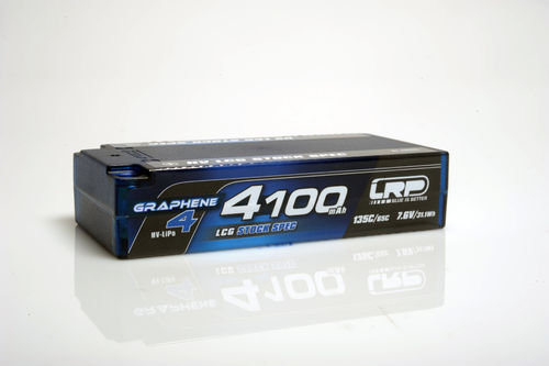 LRP 431275 - HV LCG Stock Spec Shorty Graphene 4 - 4100mAh - 7.6V LiPo - 135C/65C - 188g