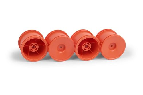 XRAY 389936 - XRAY M18T AERODISK WHEELS - ORANGE (4)