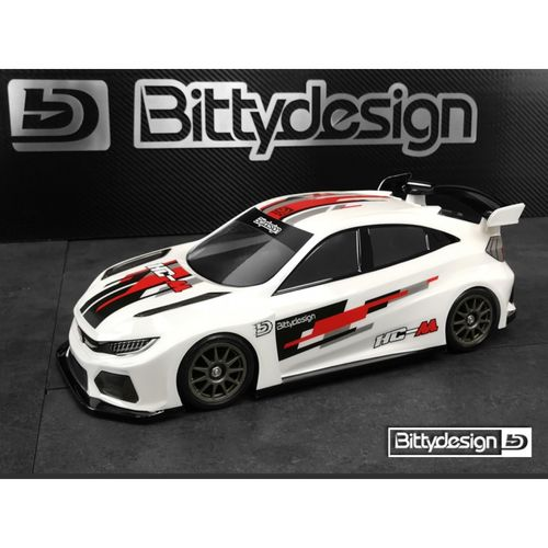 BittyDesign - HC-M - 1:10 FWD M-Chassis - Body Set - 210 / 225mm WB