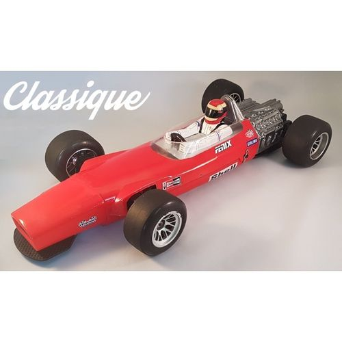 FENIX CLA004 - Classique - 1:10 Retro Formula Chassis - Conversion Kit for XRAY X1