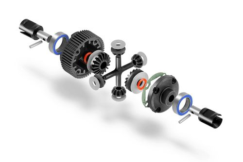 XRAY 324902 - XB2 2020 Gear Differential Set - LCG