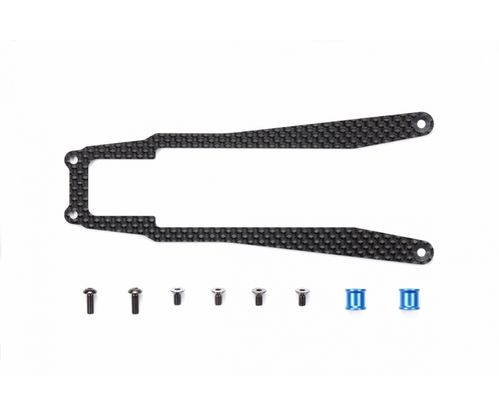 Tamiya 54755 - TA-07 - Carbon Stiffener (Center)