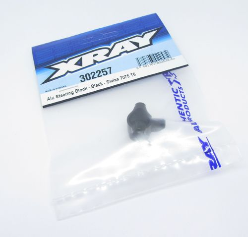 XRAY 302257 - T4 2020 - Alu Steering Block - Spare Part for 302202 (1 pc)
