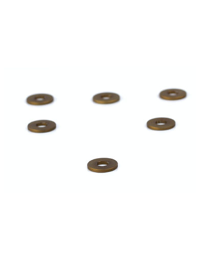 PSM PS02111 - Kyosho MP10 - Rear Hub Spacer Set Alu - Dark Gold (6 pieces)