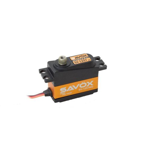 SAVÖX SV-1257MG - HV Mini Digitalservo - z.B. für 1:12