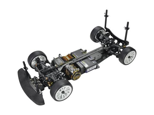 Serpent 400035 - X20 FWD medius - 1:10 EP FWD Touring Car - Carbon Chassis