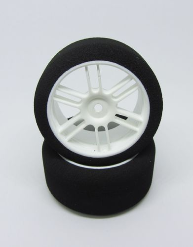 GP Speed Tires - 1:10 Nitro Scale Moosgummireifen - Heck - 35 Shore (2 Stück)