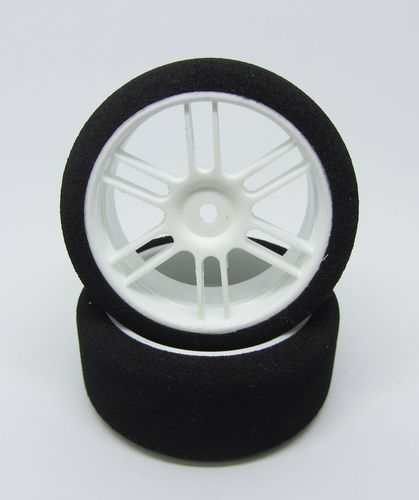 GP Speed Tires - 1:10 Nitro Scale Moosgummireifen - Front - 35 Shore (2 Stück)