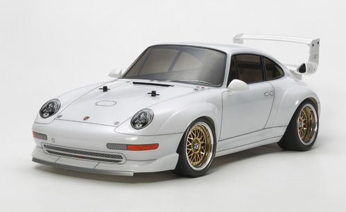 Tamiya 47321 - TA-02SW - Porsche 911 GT2 Club Sport - 1:10 Touring Car Kit