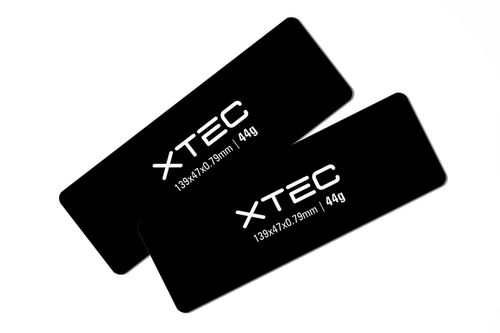 LRP 430120 - XTEC CCL Battery Weight - 139x47x0.79mm - 44g (2 pieces)