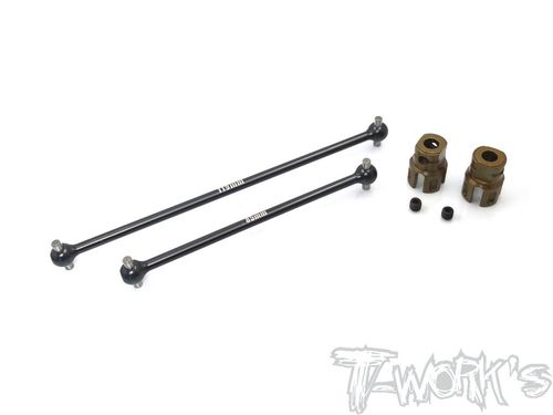 T-Work's TO-282-MP10 - Steel Center Shaft Set for Kyosho MP10