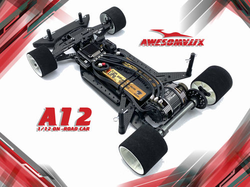 Awesomatix A12 - Car Kit - 1/12 - 2WD PanCar