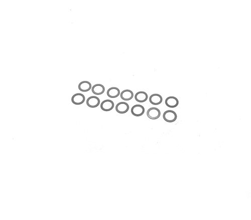 Awesomatix SH12S-0.2 - A12 - Spring Shims - 5.1x7.3x0.2mm (14 pcs)