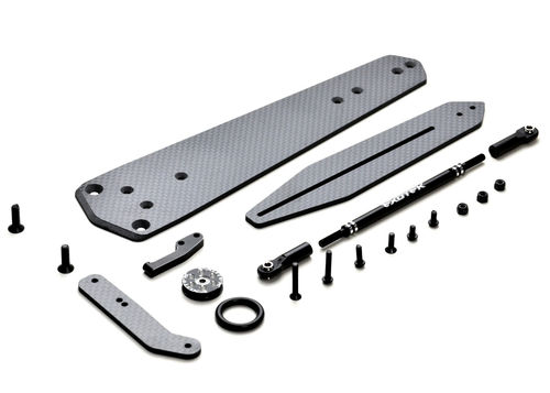 "Exotek 1978 - Traxxas Slash - Wheelie Bar Set - Einzelrad - 12""/30,48cm legal"