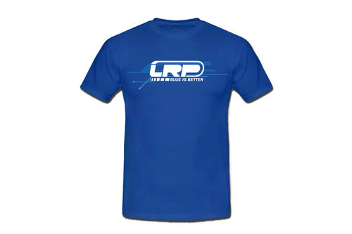 LRP 63823 - Team T-Shirt - WorksTeam - Blue is Better - BLAU - Größe L