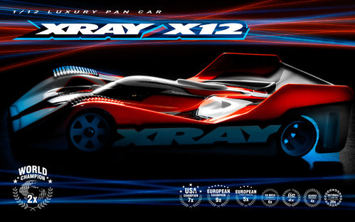 XRAY 370013 - X12 2021 - EU Edition - 1/12 PanCar Kit