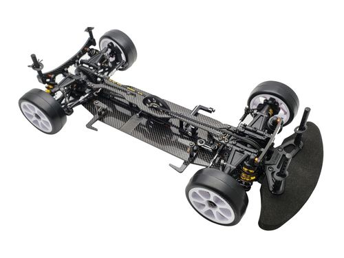 Serpent 400038 - X20'21 medius - 1:10 EP Touring Car - with Alu Lower Deck