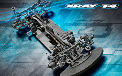 XRAY 300029 - T4 2021 - 1:10 EP Touring Kit - ALU FLEX Version