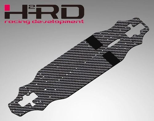 H2RD HRD017-CHA1 - Graphite Lower Deck - 2.5mm - for XPRESS XQ1 / XQ1S / XQ2S