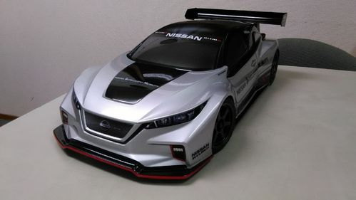 B-STOCK: ABC - Nissan Leaf NISMO RC_02 - 1:10 Touring - Body Set