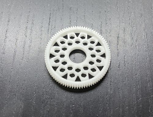 LeeSpeed DD-64076-12 – Pan Car Direct Drive Spur Gear – 64 pitch – 76T