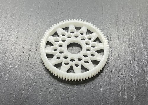 LeeSpeed DD-48076-12 – Pan Car Direct Drive Spur Gear – 48 pitch – 76T