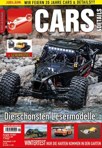 CARS & DETAILS 2021-01 - RC-Car Magazin - Awesomatix A12, Tamiya Neo Fighter, Traxxas Hoss