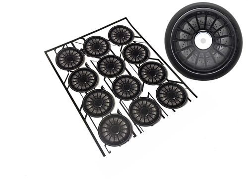 MXLR - MAX-07-001 - RACE Wheel Sticker #1 (12 pcs)