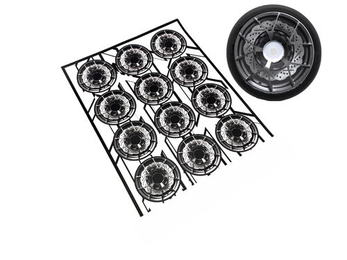 MXLR - MAX-07-002 - RACE Wheel Sticker #2 (12 pcs)