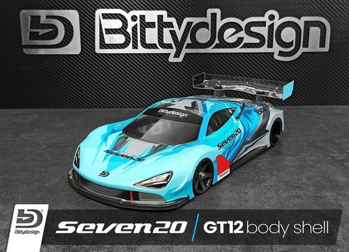 Bittydesign Seven20 - 1/12 GT Body Set