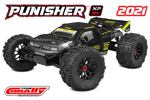 Corally 00171 - PUNISHER XP 6S 2021 - 1:8 Monster Truck LWB - Corally 1:8 RTR Family