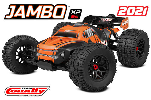 Corally 00166 - JAMBO XP 6S 2021 - 1:8 Monster Truck SWB - Corally 1:8 RTR Family