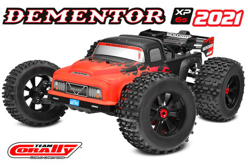 Corally 00167 - DEMENTOR XP 6S 2021 - 1:8 Monster Truck SWB - Corally 1:8 RTR Family