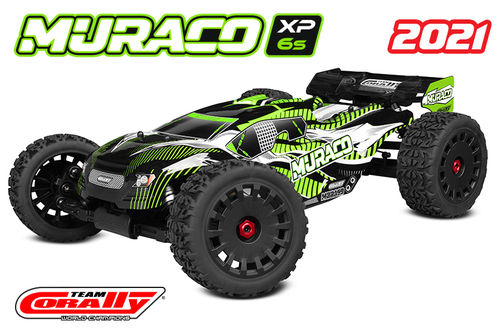 Corally 00176 - MURACO XP 6S 2021 - 1:8 Truggy SWB - Corally 1:8 RTR Family