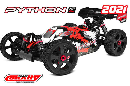 Corally 00182 - PHYTON XP 6S 2021 - 1:8 Buggy SWB - Corally 1:8 RTR Family