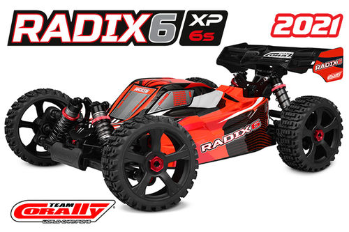 Corally 00185 - RADIX XP 6S 2021 - 1:8 Buggy SWB - Corally 1:8 RTR Family