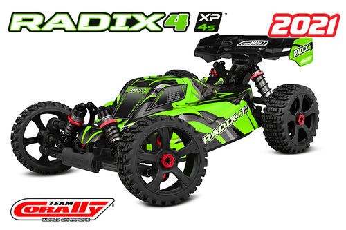 Corally 00186 - RADIX XP 4S 2021 - 1:8 Buggy SWB - Corally 1:8 RTR Family